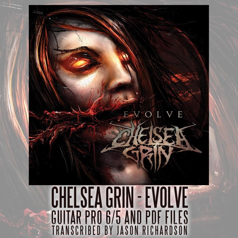 Image of Evolve Guitar Tablature