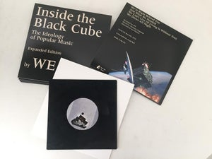 Image of PREORDER WE - Inside the Black Cube. Square 8 inch Vinyl GJ003