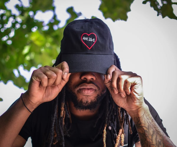 Image of Black Ahk Love Hat