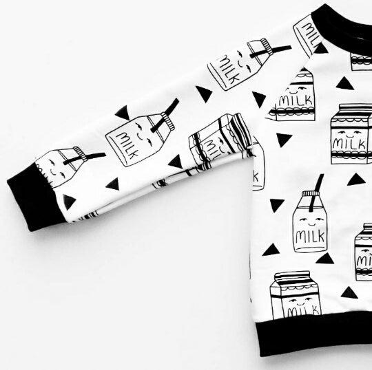 Image of sweatshirt MILK