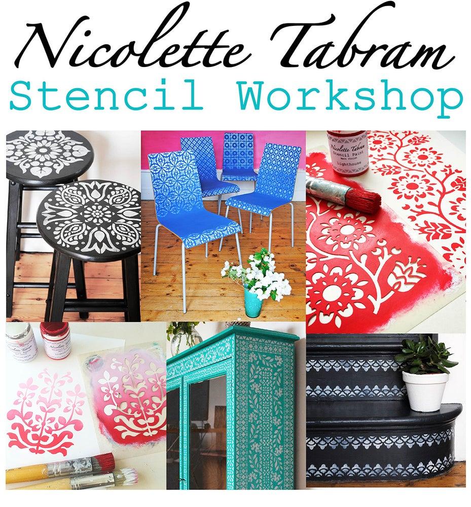 Image of Stencil Workshop