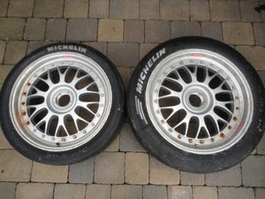 "Image of Genuine BBS E88 18"" 3-Piece Split Rim Centre Lock 996 GT3 Wheels"