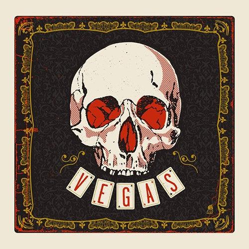 Image of Vegas Skull Art Print
