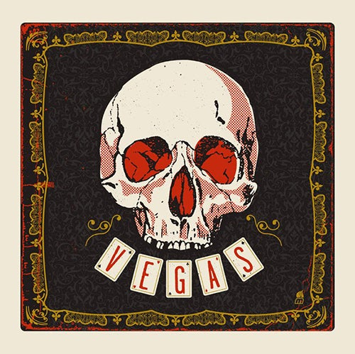 Image of Vegas Skull Art Print