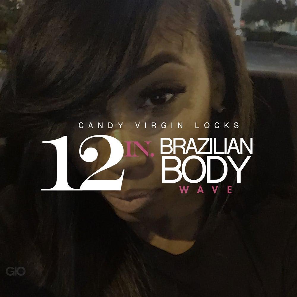 """Image of 12"""" Brazilian Body Wave"""
