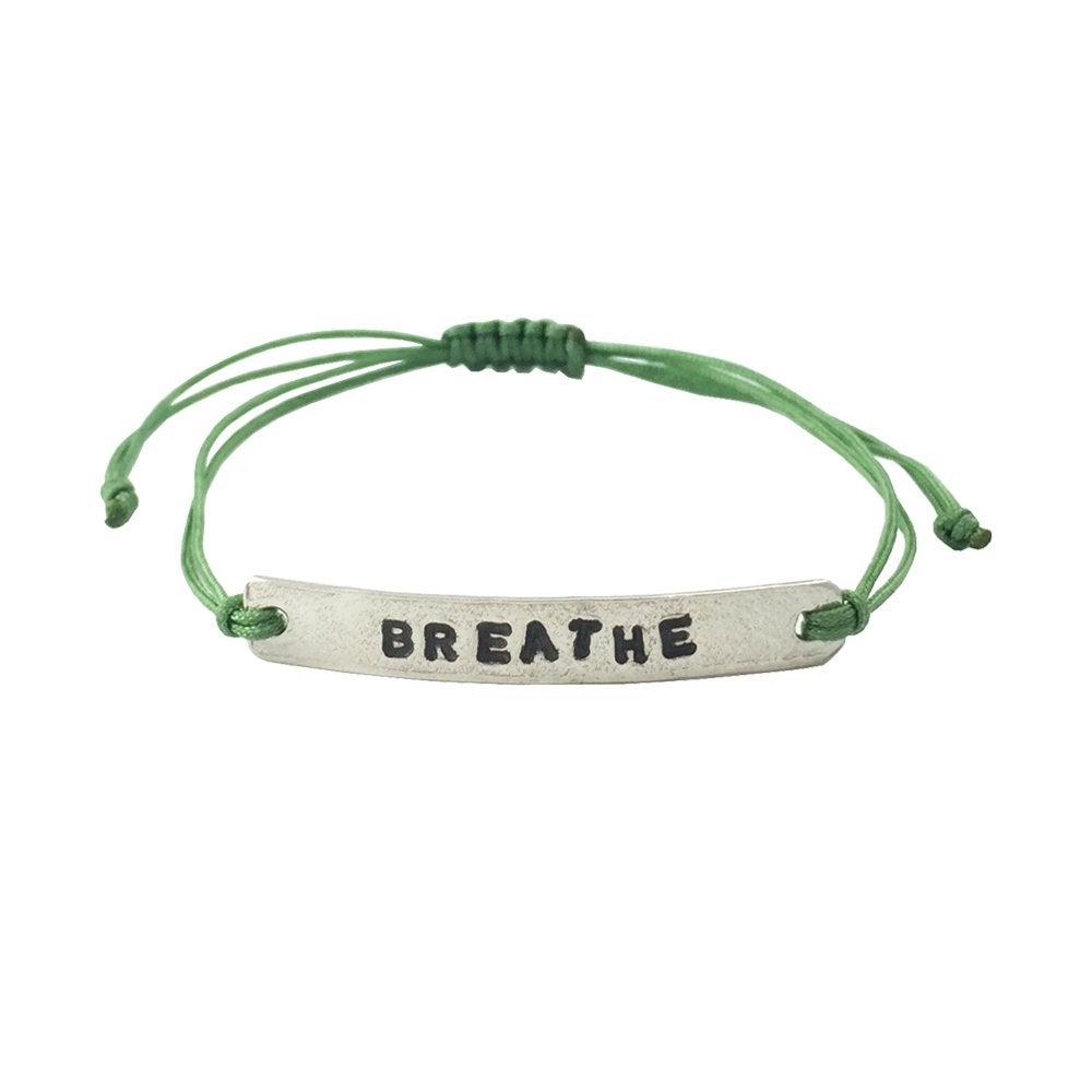 Image of Stamped Bracelet Breathe