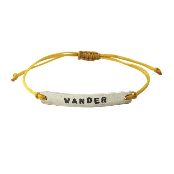 Image of Stamped Bracelet Wander