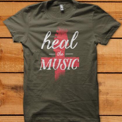 Image of Heal The Music Tee
