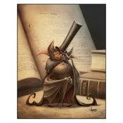 "Image of ""Sir Desmodus Rotundus"" Vampire Bat Print"