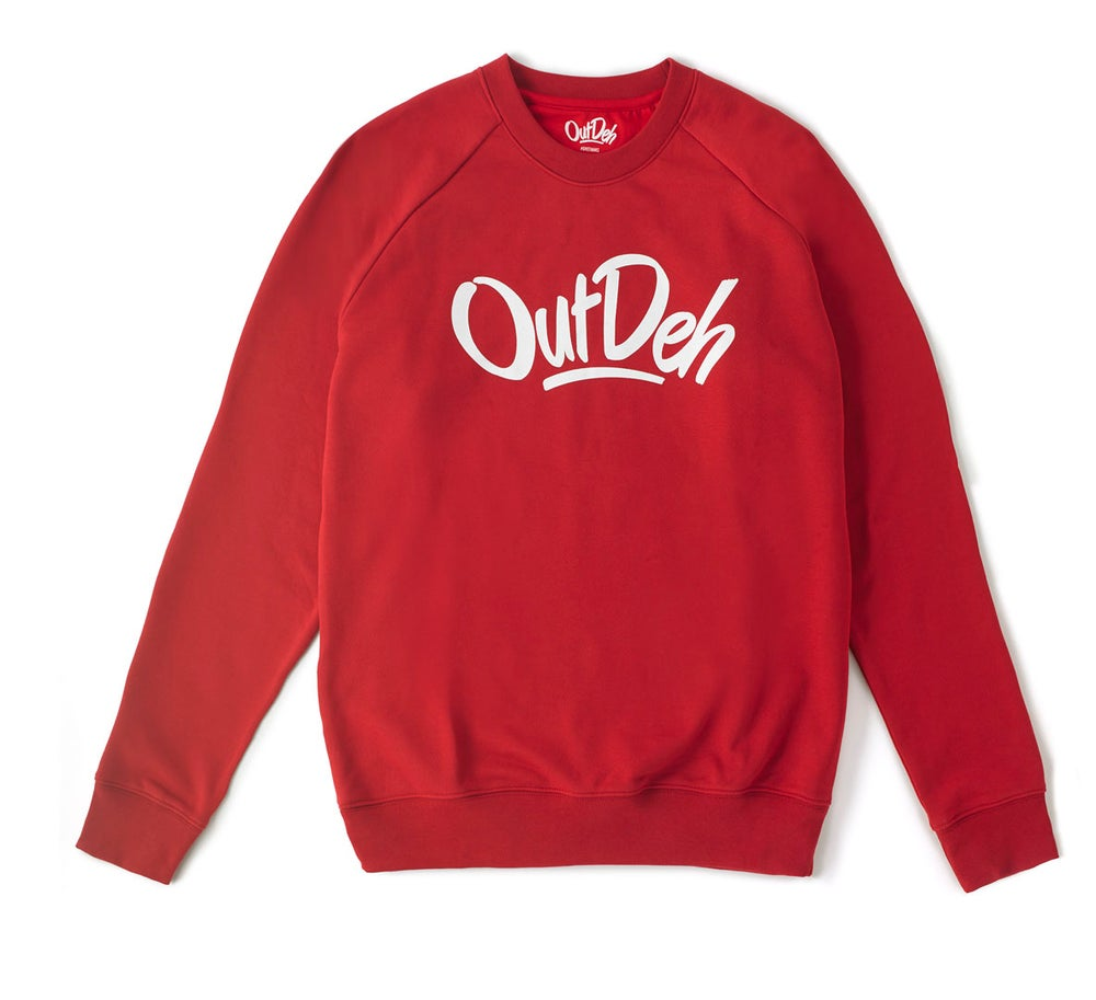Image of Out Deh Crew Red