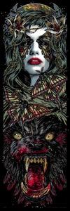 Image of LUNA - holo art print
