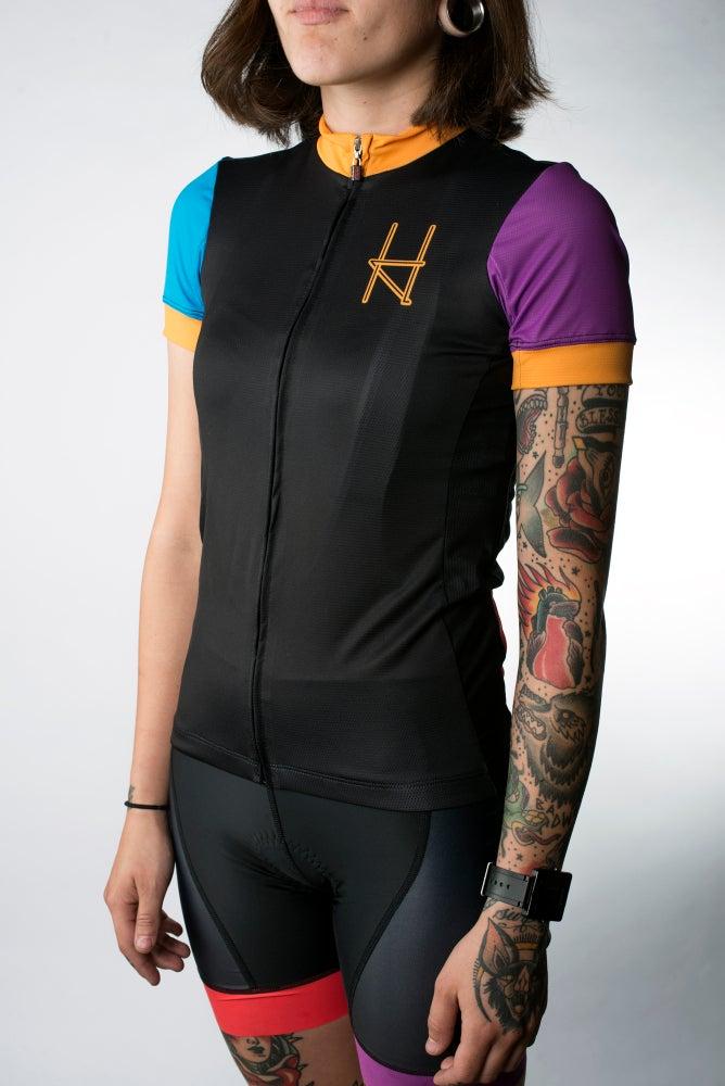 Image of Halcyon Cycling Bib Shorts, Black