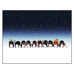 "Image of ""Penguins' Greetings"" Print"