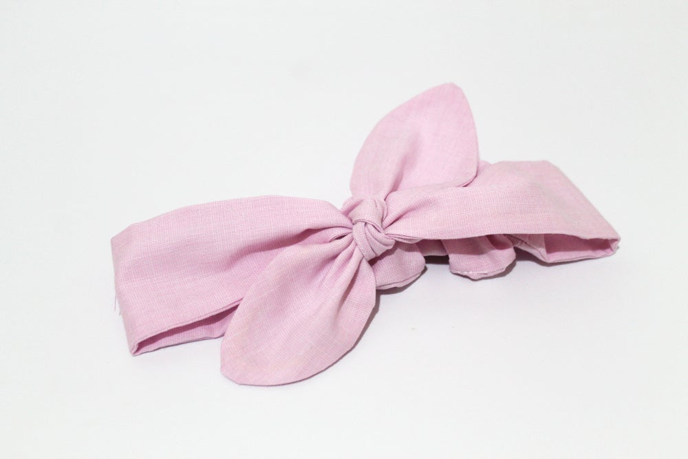 Image of Pink Marshmallow Top Knot