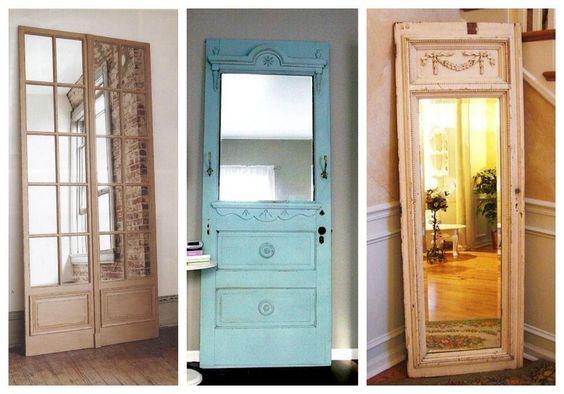 Marilou living dise adora de muebles y decoradora de - Puertas de espejo ...