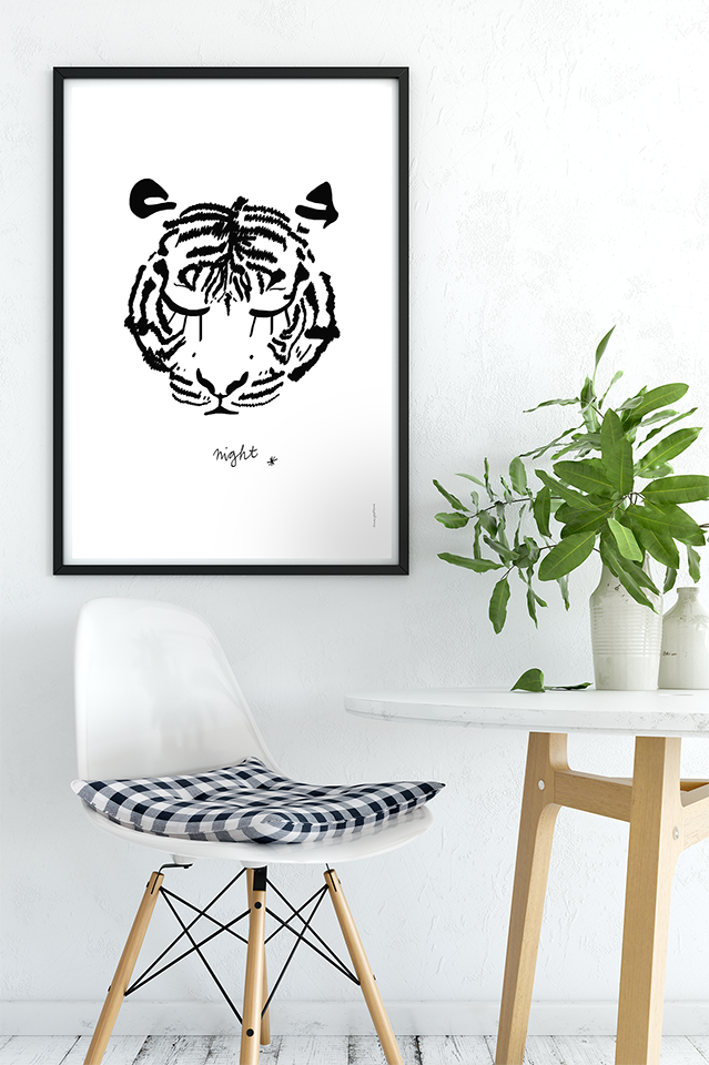 """Image of Póster """"Tigre"""""""