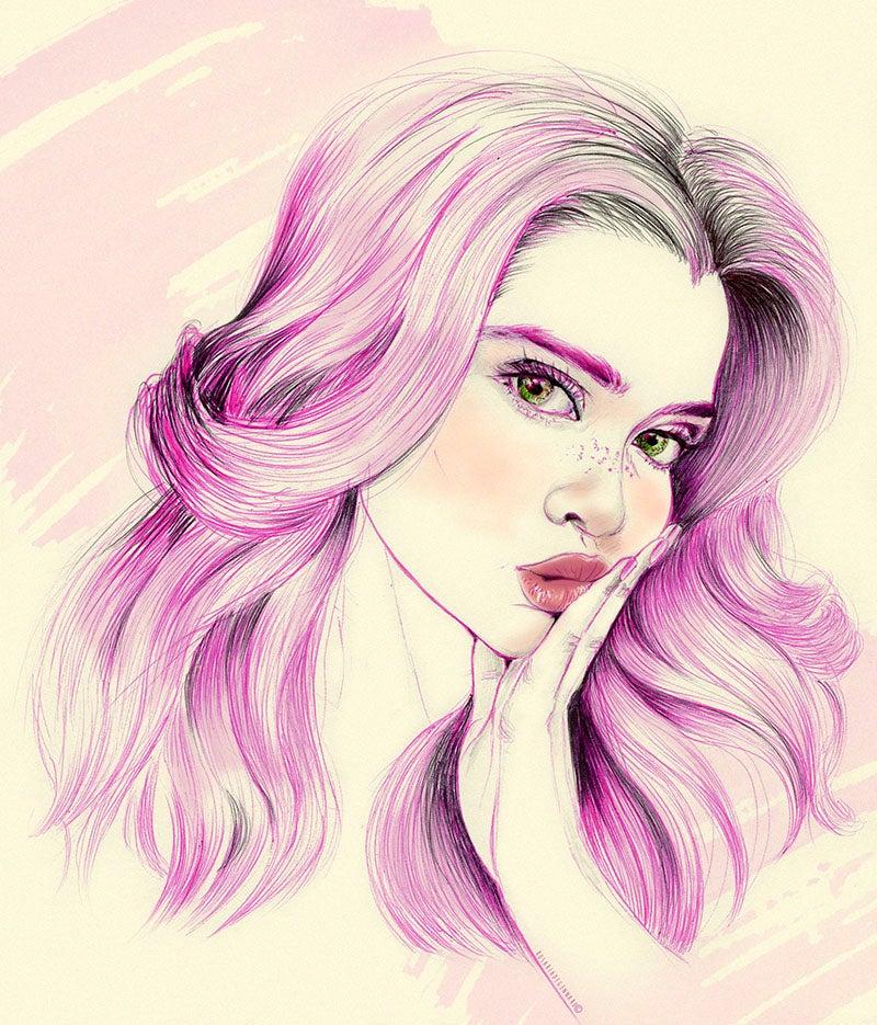 Image of La Chica Rosa