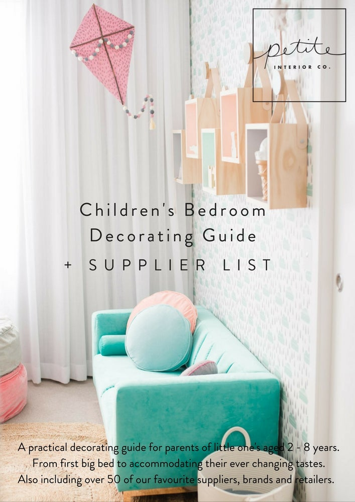 Image of Children's Bedroom Decorating Guide