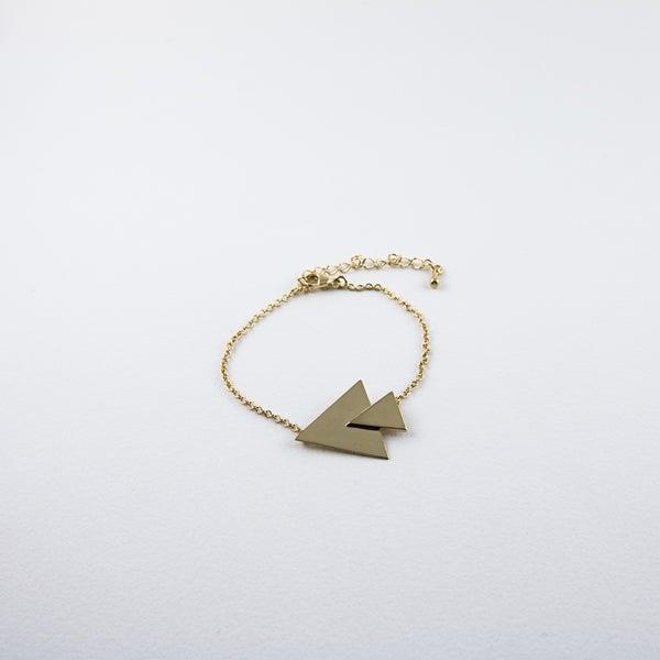 Image of Bracelet Vicky - Vermeil
