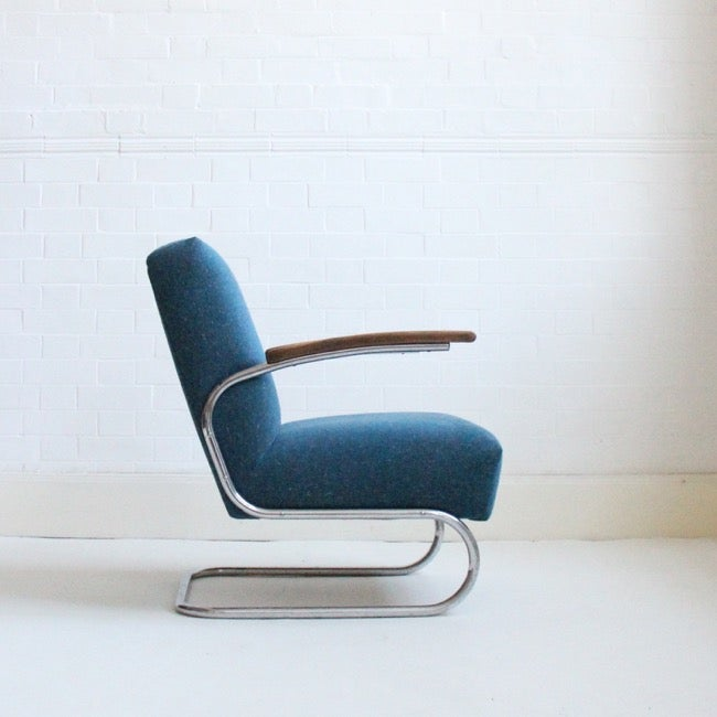 Image of BAUHAUS CANTILEVER ARMCHAIR C1930-
