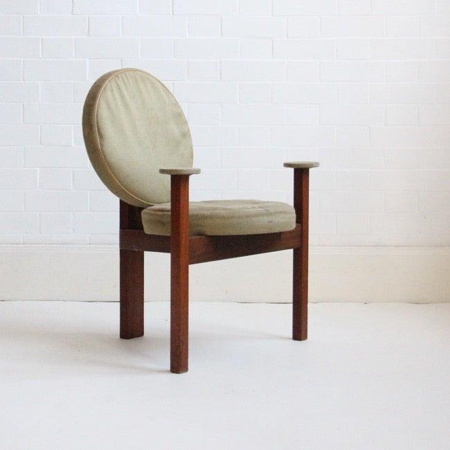 Image of Circular chair by Bent Møller Jepsen, 1961