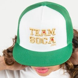 Image of Team Soca Hat Version 1 (Mesh Hat)
