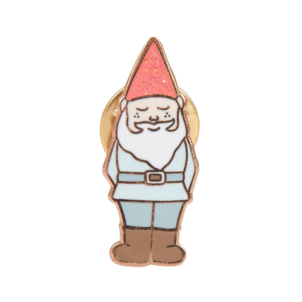 Image of Gnome Enamel Pin