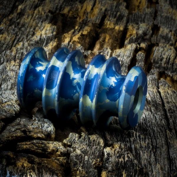 Image of Kraken Blue Camo bead #1