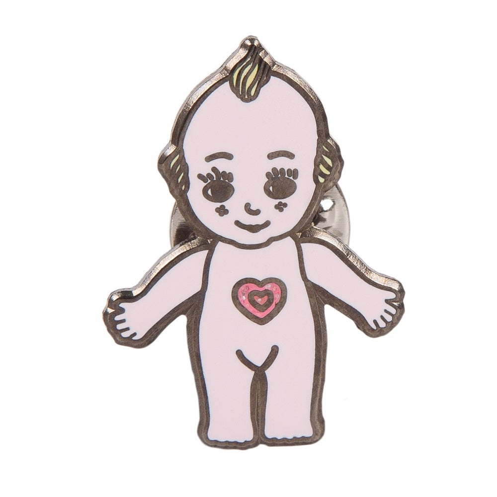 Image of Kewpie Enamel Pin