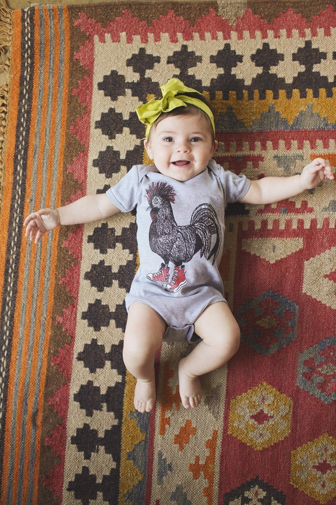 Image of Baby Cluck Taylor Onesie