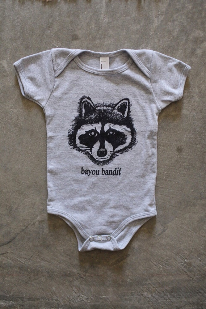 Image of Baby Bayou Bandit Onesies