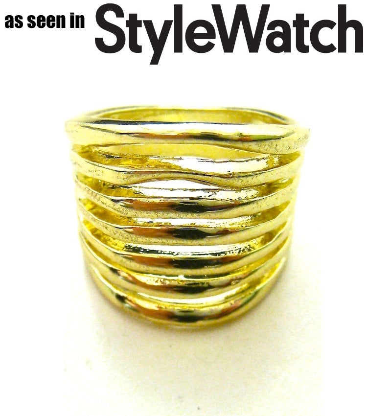 Image of Gold Metal Cage Ring