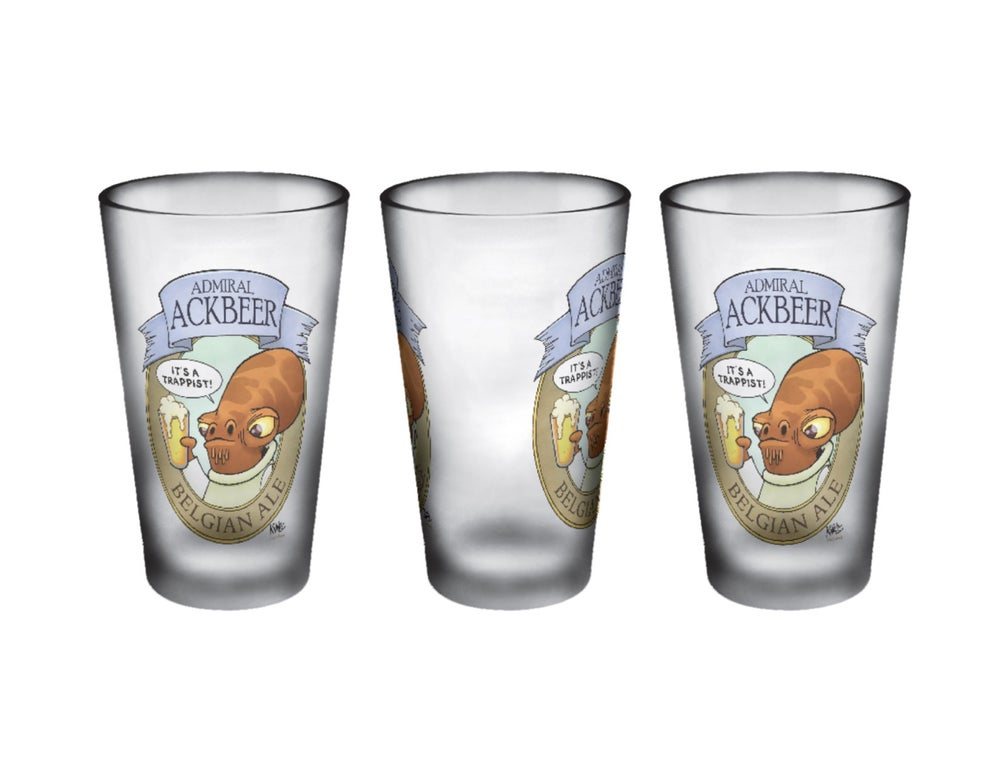 Image of Galactic Beverage Pint Glass