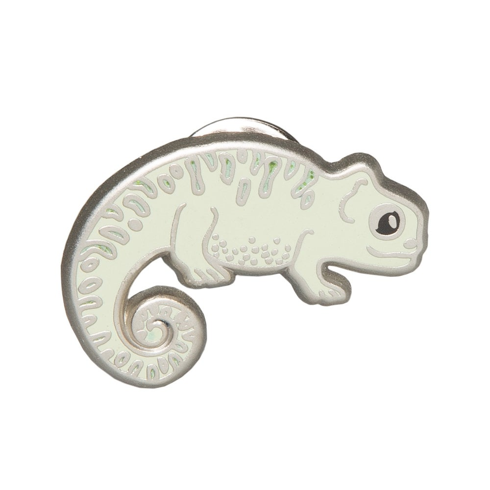 Image of Chameleon Enamel Pin