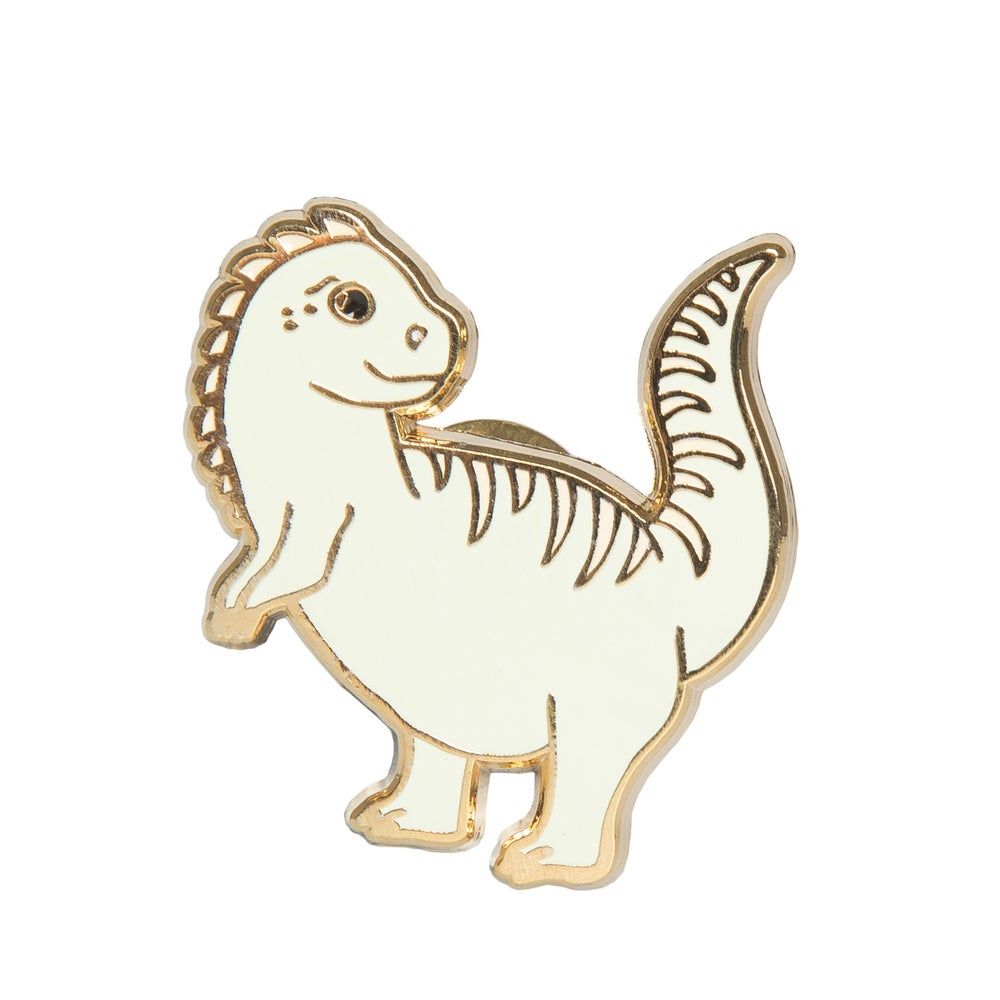Image of Dino Enamel Pin