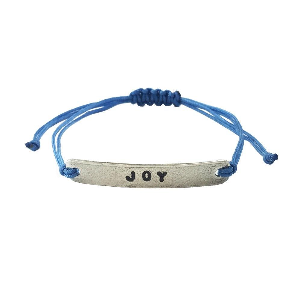 Image of Stamped Bracelet Joy