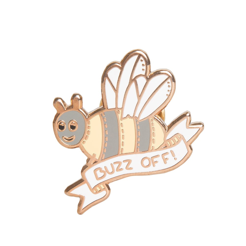 Image of Buzz Off Enamel Pin