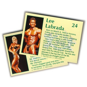 Image of BODY BUILDERS TRADING CARDS - MUSCLES! - 1993