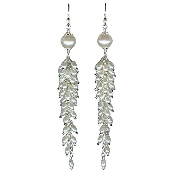 Image of Freshwater Pearl Cascade Earrings - Featured at WomansDay.com
