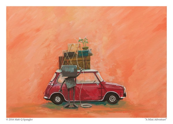 Mini Adventure - Matt Q. Spangler Illustration