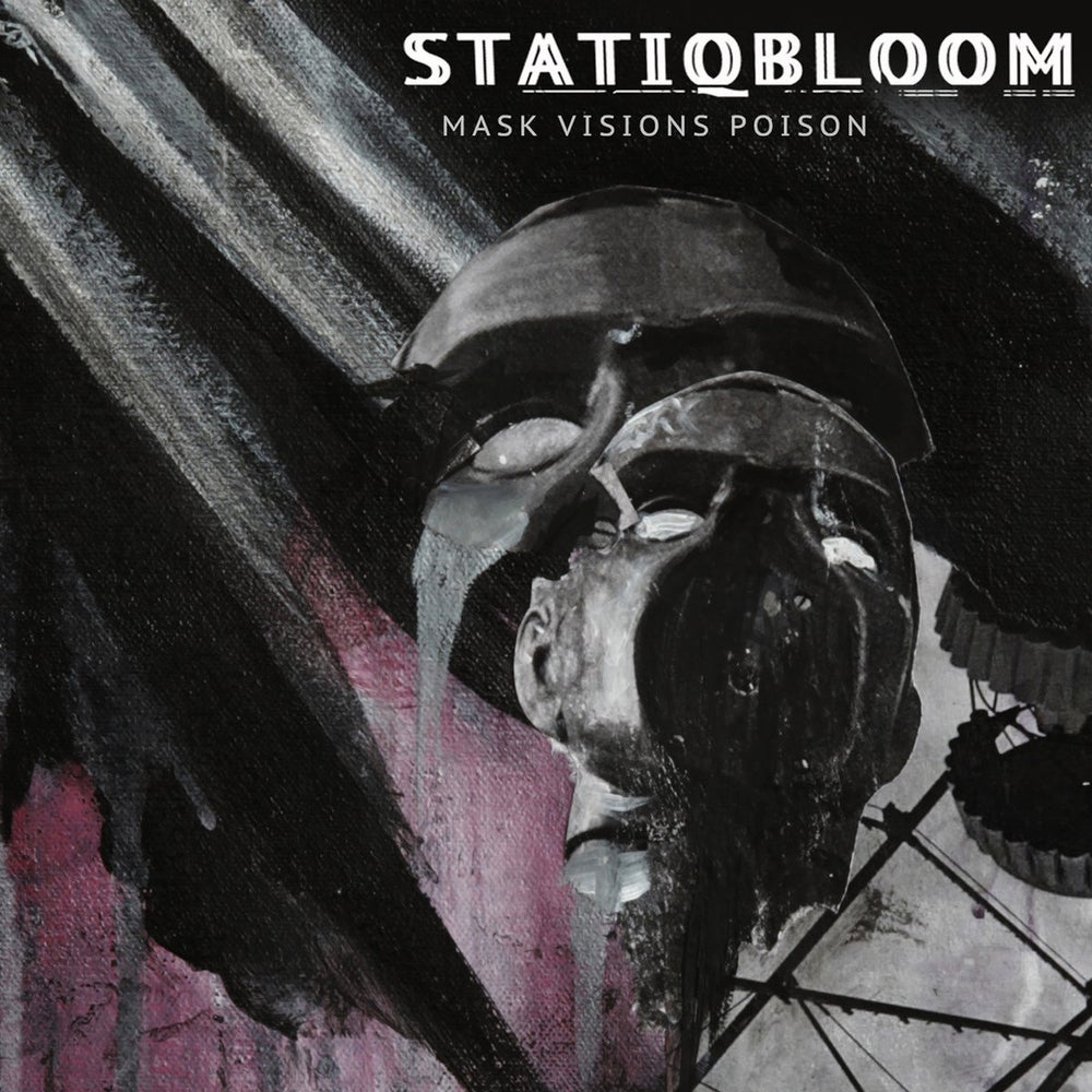 Image of STATIQBLOOM - mask visions poison LP