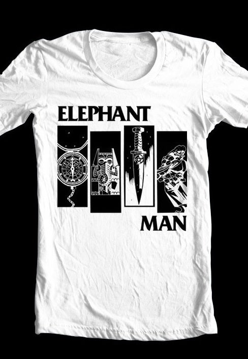 Image of Elephantman T-shirt (white)