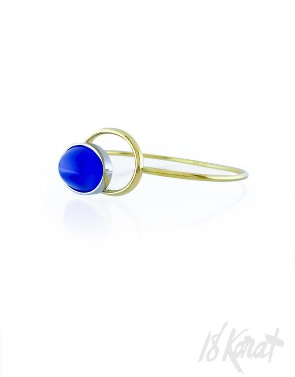 Turquoise Agate Clip-On Bracelet - 18Karat Studio+Gallery