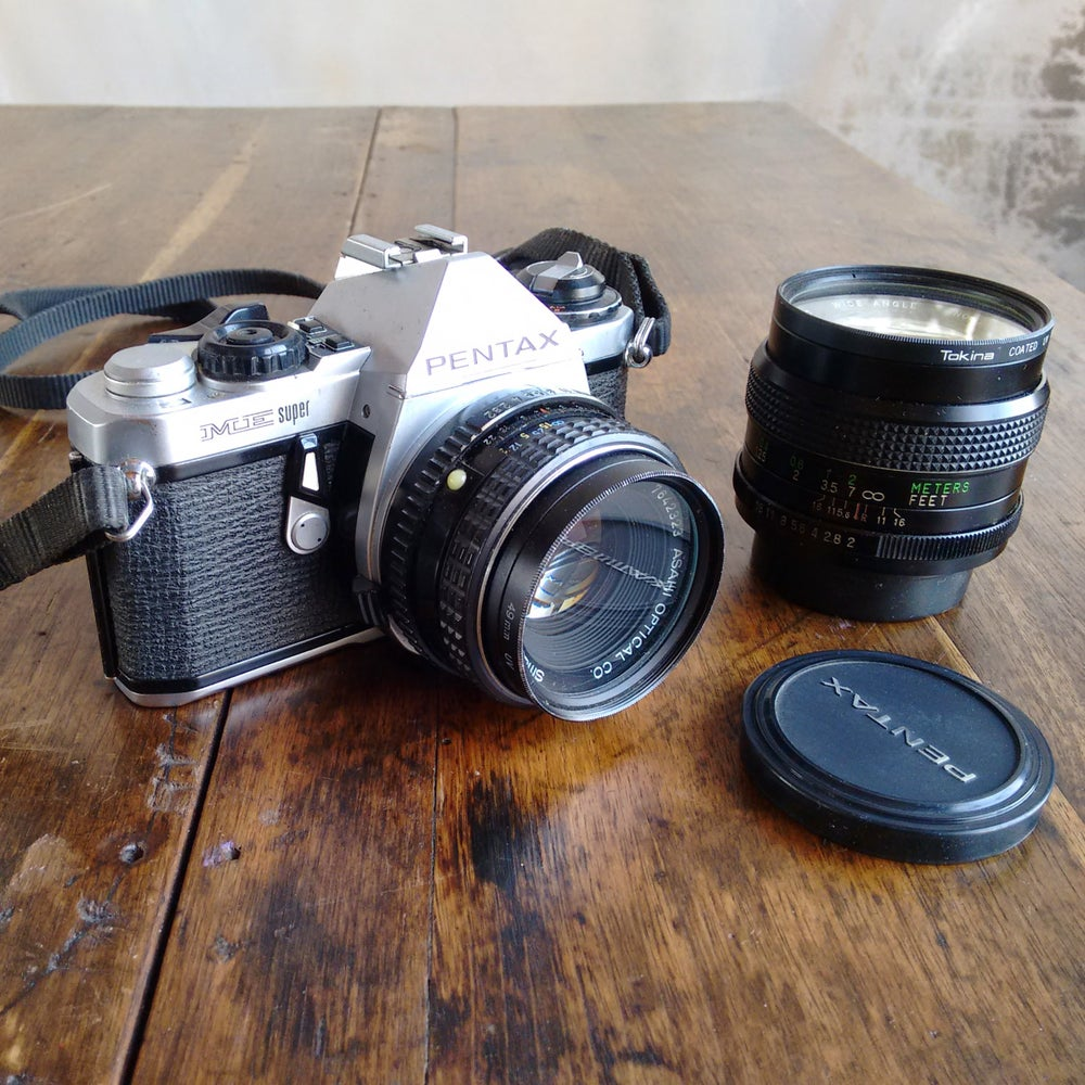 Image of Pentax ME Super SLR Camera
