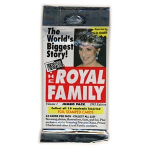 Image of ROYAL FAMILY TRADING CARDS ! PRINCESS DIANA 👑