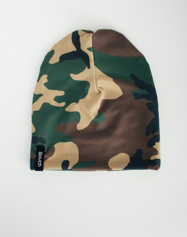 Image of Camo Slouch Beanie