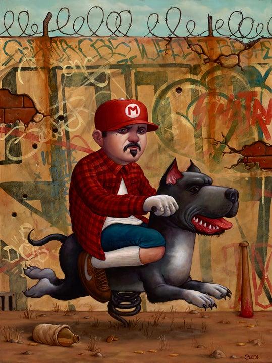 "Image of ""Mario Trece"" - Print by Bob Dob"