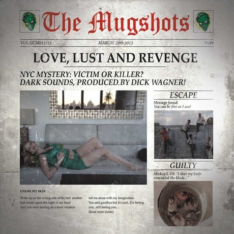 Image of The Mugshots - Love, Lust And Revenge (2013)
