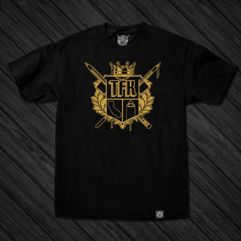 Image of TFK Crest (GOLD) / ONLINE EXCLUSIVE!