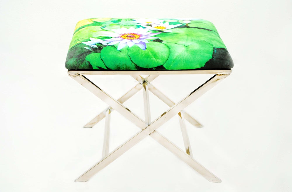 Image of Lilly Pad Ottoman